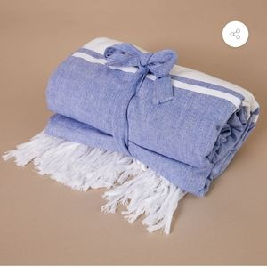 Summer and Rose Turkish towel